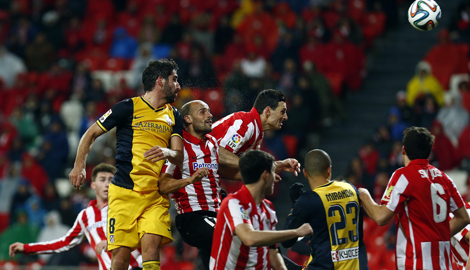 Resumen: ATHLETIC 1-2 Atl Madrid 2013/14