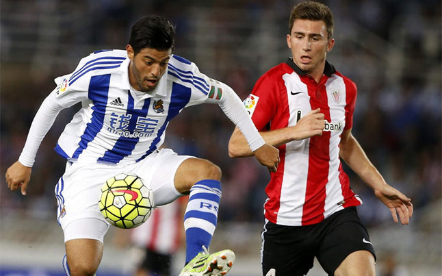 Real Sociedad - Athletic. Vela. Laporte