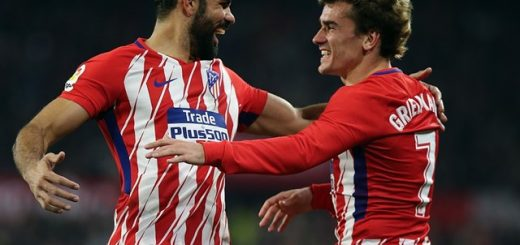 Diego Costa y Griezmann | Foto: Europa Press